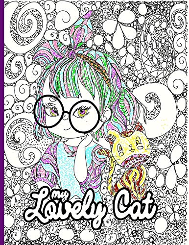 Compare Textbook Prices for my lovely cat: Inspirational Coloring Book for Kids, Motivational and Inspiring Quotes to Color ,Notebook Doodles Adorable Pets,Unicorn ,God's Girl Coloring Books and cats  ISBN 9798686334618 by book, noote