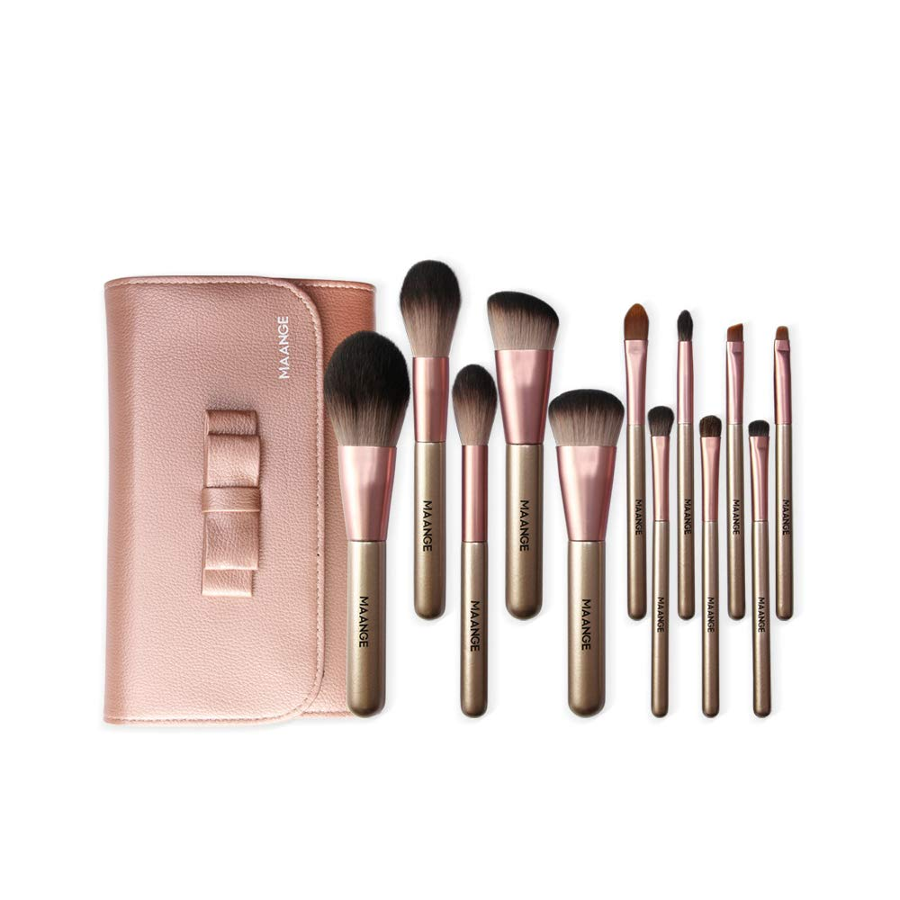 Oakland Mall Makeup Brushes Make up Brush Premium Max 60% OFF 12-Piece Professional Set