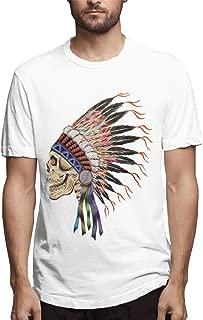 Grateful Dead Indian T-Shirt Short Sleeve Fashion Tee