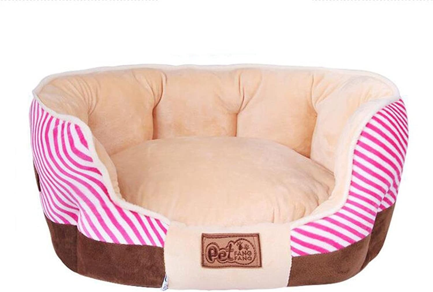 Pet Nest Pet Supplies Crystal Striped Pet Nest Warm Cat Autumn And