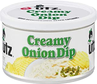 UTZ, CREAMY ONION DIP, 8.5OZ CAN ~US AND INTERNATIONAL SHIPPING~