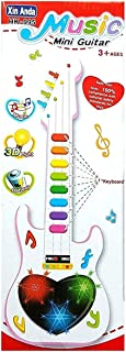 BASICS 21 B21 Musical Mini 3D Guitar Instrument with Sound & 3D Lightning Effects Learning Toy for Boys & Girls