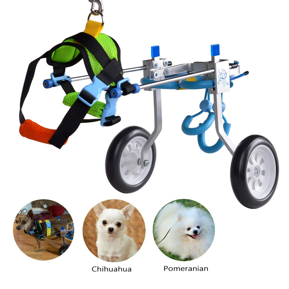 HiHydro Wheelchair Handicapped Doggie Stainless