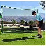 Qdreclod Red de práctica de Golf Net Plegable 3M X 2M Red Golf Practica Red de Entrenamiento de Golf al Aire Libre Interior con Bolsa de Transporte (Verde Negro 3M X 2M)
