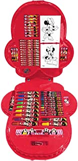 Maleta para Pintura Licenciada Minnie Face Completa 70 Itens, Molin, Multicor