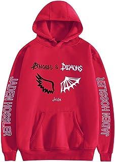CNSTORE Men Women Hooded Sweatshirts Angels & Demons by jxdn Hoodie Jaden hossler Pullover Unisex Harajuku Tracksuit