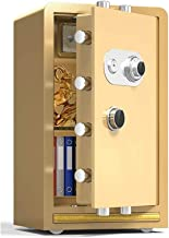 HDZWW Home Insurance Safe Box Money Security Value Safe Digital Capacity Cash Premium in-Wall Office All-Steel Security Ca...
