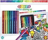ALEX Toys colorave Marcador para Colorear Set, Multicolor, 33,02x 25,4x 5,08cm