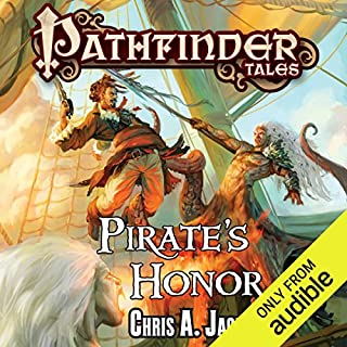 Pirate's Honor                   By:                                                                                                                                 Chris A. Jackson                               Narrated by:                                                                                                                                 John Pruden                      Length: 12 hrs and 15 mins     4 ratings     Overall 3.8