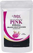 MiralandBerry Pink Pitaya Dragon Fruit Powder, Freeze Dried, 3.5 Oz, Non GMO, Gluten Free