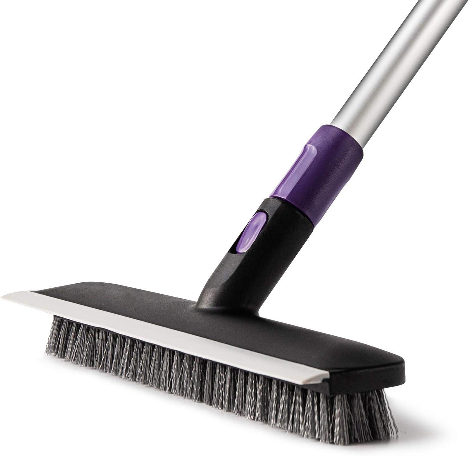 AKOMA Floor Scrub Brush with Extendable Long Handle 9