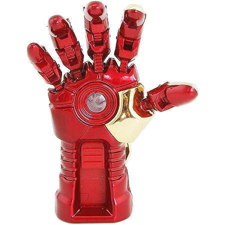 USBメモリ・フラッシュドライブ USBメモリースティック usb フラッシュメモリー ドライブ USB Flash Drive Pendrive 外付けドライブ ストレージ USB2.0 可愛い 漫画 Marvel マーベル The Avengers Star Wars Superhero シリーズ アベンジャーズ スターウォーズ スーパーヒーロー ポータブル (64GB,Iron Man Right hand)