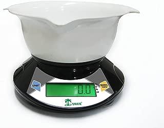 22 LB x 0.05 OZ 10000 GRAM x 1 GRAM DIGITAL SCALE KITCHEN FOOD DIET PORTION CONTROL by LW Measurements, LLC