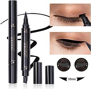 Dooclor Eyeliner Stamp Double-sided Liquid Winged Eye Liner Pen Waterproof Smudgeproof Long Lasting Wing Original Eyeliner Pen