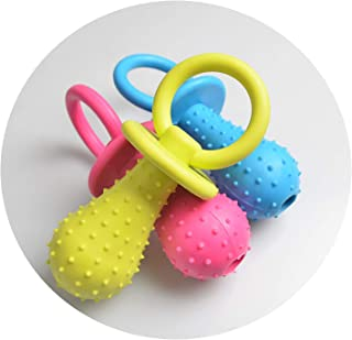 1Pc Rubber Nipple Dog Toys for Pet Chew Teething Train Cleaning Poodles Small Puppy Cat Bite Best Pet Dogs Supplies