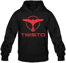 Red Tiesto Eagle Classic Men's Hooded Sweatshirts