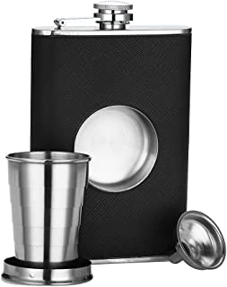 Best flask with shot glass jameson Reviews