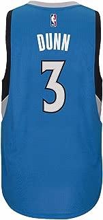Kris Dunn Minnesota Timberwolves NBA Blue Official Climacool Away Road Swingman Jersey for Men