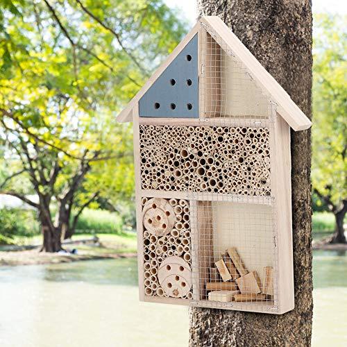 Labuduo Bienenkasten, Bienenhaus, Holz für Bienennest