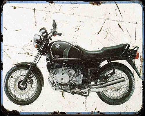 BMW R100R Classic 95A4Foto Print Motorrad Vintage Aged