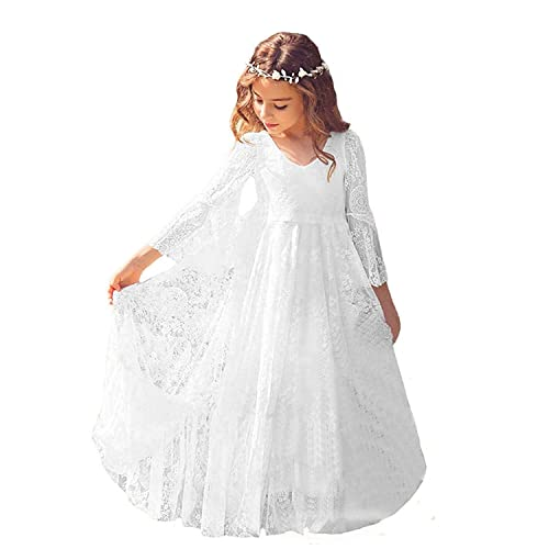 Communion Dress With Sleeves Amazon Com