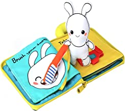 beiens 9 Theme My Quiet Books - Ultra Soft Baby Books Touch and Feel Cloth Book, 3D Books Fabric Activity for Baby /Toddler, Learning to Sensory Book?Identify Skill Boys and Girls, Toddler Busy Book