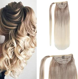 human hair ombre ponytail