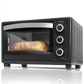 Cecotec Bake&Toast Four électrique à convection 23 l 1500 W 3 modes Température jusqu'à 230 °C et temps jusqu'à 60 minutes...