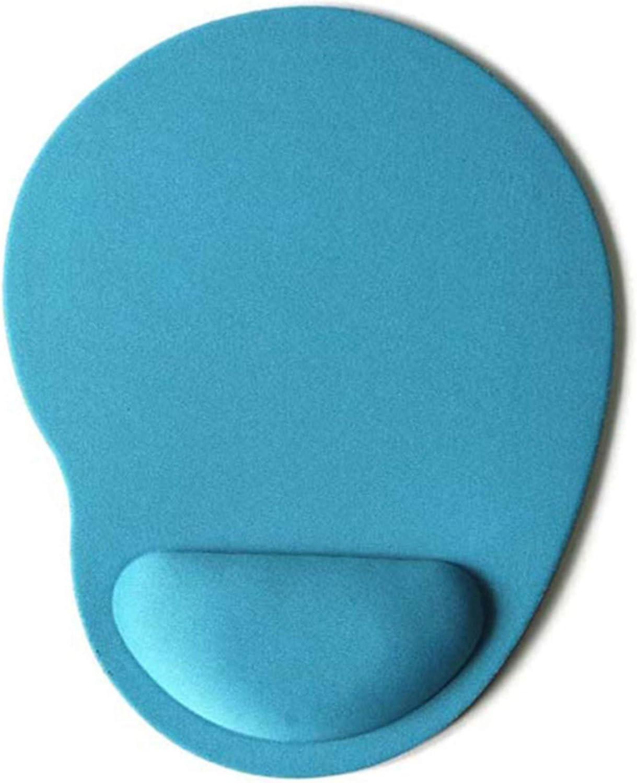 ZSDFW Tapis de Souris avec Repose-Poignet Protection du Poignet Confort des Mains pour Accessoires informatiques de Bureau /à Domicile,Rouge