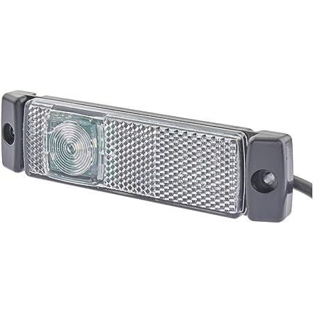 Hella 2pg 008 645 971 Positionsleuchte Led 24v Lichtscheibenfarbe Glasklar Anbau Kabel 500mm Einbauort Vorne Auto