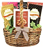 Village Caffe, Coffee Lovers Gift Basket with Chocolate Cookies, Coffee Candy, Mochas and Gourmet...