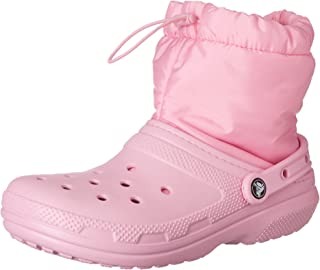 Crocs Unisex's Classic Lined Neo Puff Boot Snow