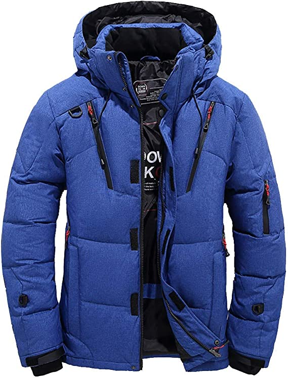 Details about  /2021 Men/'s Large Size 90/% Down Down Jacket Thin and Light Keep Warm Casual Coat