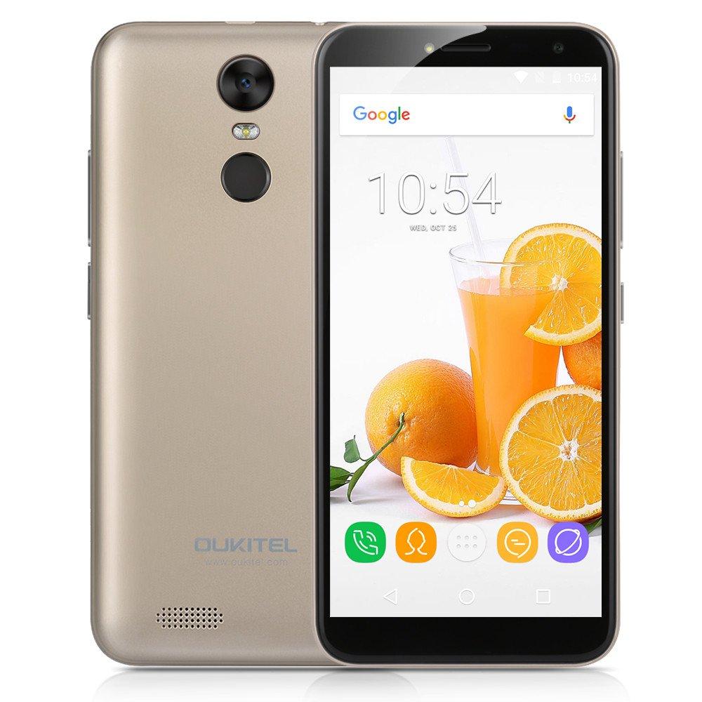Oukitel - Smartphone Libre Android (Oukitel C8 Dorado): Amazon.es ...
