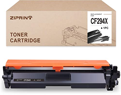 high quality ZIPRINT Compatible Toner Cartridge Replacement for HP CF294X 94X 94A for HP Laserjet Pro M118dw M148dw MFP online sale M148dw M148fdw M148fdw Printer (with discount Chip,1-Pack) online sale