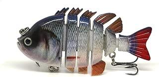 "3"" Crazy Panfish Series Multi Jointed Fishing Hard Lure Bait Swimbait Life-Like"