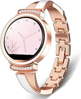 AEF Smartwatch Mujer, Reloj Inteligente Impermeable 68, Monitor Sueño y Caloría Pulsómetro, Modos Deportes, Notificaciones Inteligentes, Reloj Deportivo Mujer para Android iOS