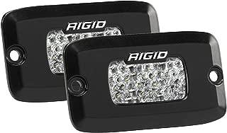 RIGID SR-M Series PRO Diffused Backup Kit Flush Mount, PAIR (set of 2) LED lights, 980013