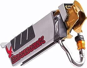 OmniProGear Brakehawk Braking System with 2017 Petzl TRAC Plus Zipline Pulley