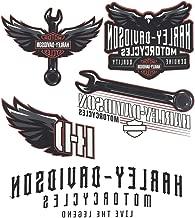 Harley-Davidson Velocity Assortment Temporary Tattoos, 5 Total Tattoos TT331