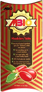 MiracleBio MBIO Miracle Fruit Tablets (10 counts), XL size 600mg/count, 35% OFF now, Strengthened Version.