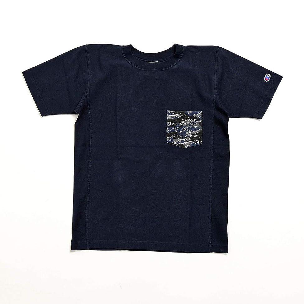 厚さマーチャンダイザー不合格(チャンピオン) Champion 半袖ポケットTシャツ(MENS) [C3-B369]