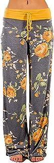 GoodLock Womens Wide Leg Lounge Pants Comfy Stretch...