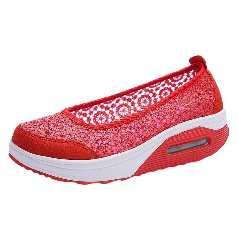 Shusuen Women Casual Shallow Shoes Ladies' Platform Shoes