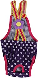 6Sizes Female Dog Diaper, Nappy Physiological Sanitary Menstrual Suspender Underwear Pants