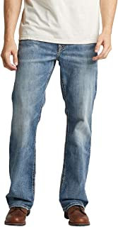 Silver Jeans Co. Men's Craig Easy Fit Bootcut Jeans