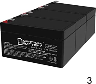 Mighty Max Battery 12V 1.3Ah SLA Battery Replaces Linear RE-2 Telephone Entry System - 3 Pack Brand Product