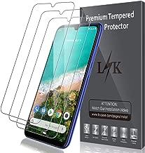 LK Protector de Pantalla para Xiaomi mi A3 Cristal Templado, [3 Unidades] [9H Dureza] [Resistente a Arañazos] Vidrio Templado Screen Protector para Xiaomi A3