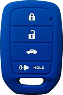 Rpkey Silicone Keyless Entry Remote Control Key Fob Cover Case protector For 2013 2014 2015 Honda Accord Civic MLBHLIK6-1T 35118-T2A-A20