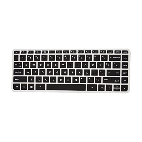 PcProfessional Black Ultra Thin Silicone Gel Keyboard Cover for HP Spectre x360 15t AP012dx AP011dx 15